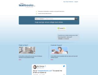 cheaptextbooks.com screenshot