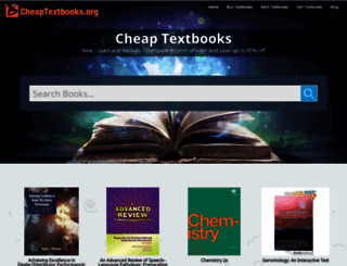 cheaptextbooks.org screenshot