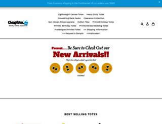 cheaptotes.com screenshot