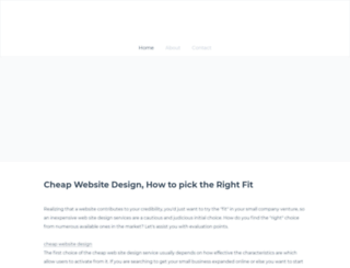 cheapwebsitedesign55.weebly.com screenshot