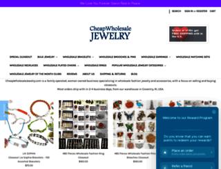 cheapwholesalejewelry.com screenshot