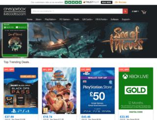 cheapxboxlivecodes.com screenshot