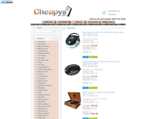 cheapys.com screenshot