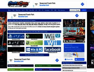 cheatcodes.com screenshot
