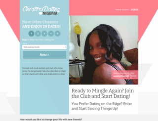 cheatersdatingnigeria.com screenshot