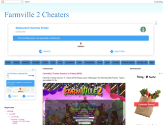 cheatersfarmville2.blogspot.ca screenshot