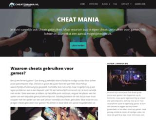 cheatomania.nl screenshot