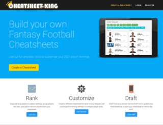 cheatsheetking.com screenshot