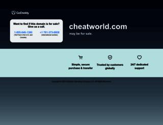 cheatworld.com screenshot