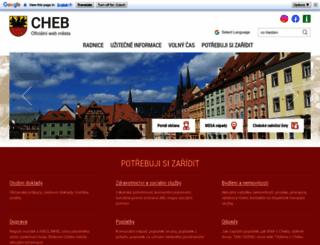 cheb.cz screenshot