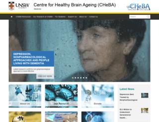 cheba.unsw.edu.au screenshot