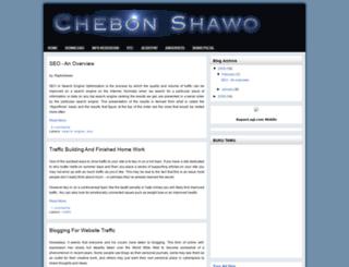 chebonshawo.blogspot.com screenshot