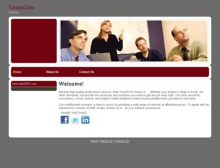 checkcom.com screenshot