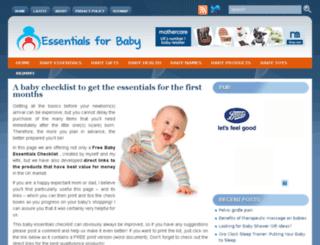 checklistforbaby.com screenshot