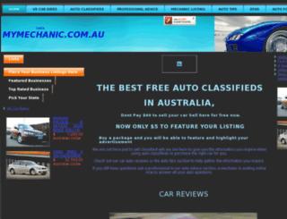 checkmymechanic.com.au screenshot