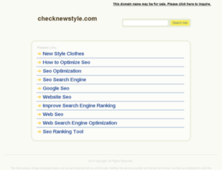 checknewstyle.com screenshot