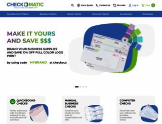checkomatic.com screenshot