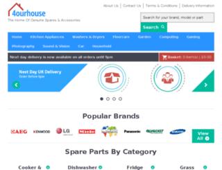 checkout.4ourhouse.co.uk screenshot