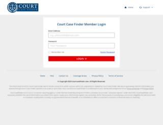checkout.courtcasefinder.com screenshot