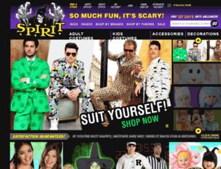 checkout.spirithalloween.com screenshot