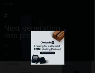 checkpointsystems.com screenshot