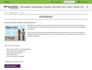 checkright.org screenshot