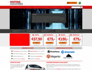 checkwebsitehosting.nl screenshot