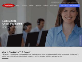 checkwriter.net screenshot