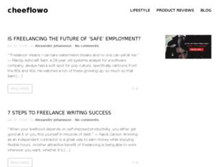cheeflowo.com screenshot