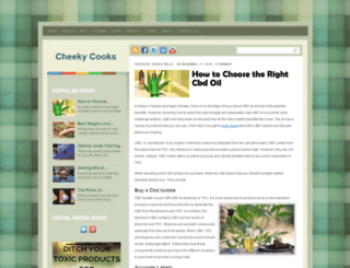 cheekycooks.com screenshot