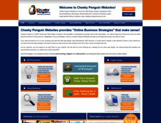 cheekypenguin.com screenshot