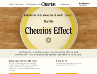 cheerioseffect.ca screenshot