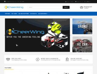 cheerwing.com screenshot