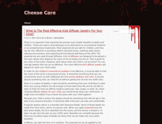 cheesecare.com screenshot