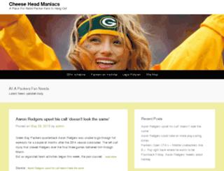 cheeseheadmanics.com screenshot