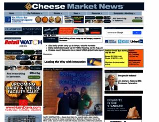 cheesemarketnews.com screenshot