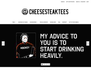 cheesesteaktees.com screenshot