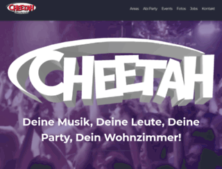 cheetah-oberbruch.de screenshot