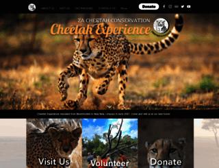 cheetahexperience.com screenshot