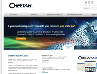 cheetahtech.com screenshot