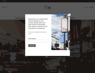 cheeyewear.com.au screenshot