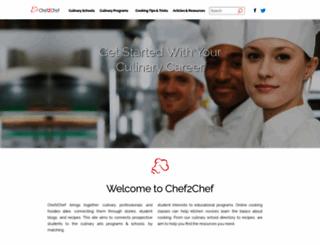 chef2chef.net screenshot