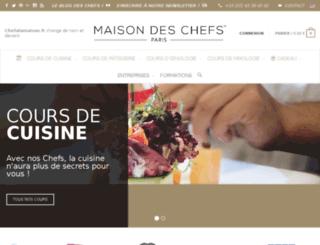 chefalamaison.fr screenshot