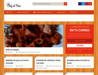 chefalpaso.com screenshot