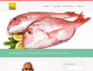 chefandbutcher.in screenshot