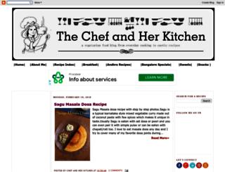 chefandherkitchen.com screenshot