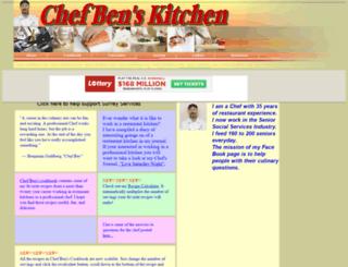 chefben.tripod.com screenshot