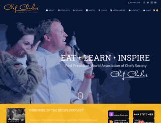chefcharlescarroll.com screenshot