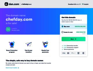 chefday.com screenshot