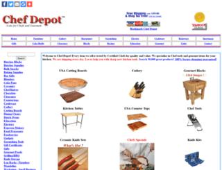 chefdepot.com screenshot